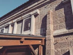 小川町の石蔵へ薪ストーブ設置