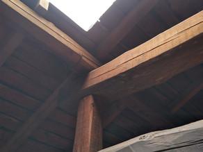 東松山店からすぐご近所にて薪ストーブの設置工事