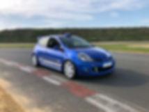 Coaching pilotage en Clio 3 RS groupe A - Rallye Loc