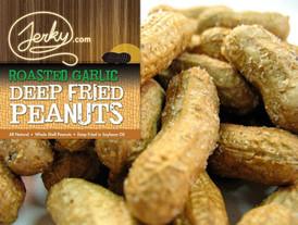 Roasted Garlic Deep Fried Peanuts