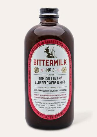 Bittermilk - No.2 - Tom Collins with Elderflower & Hops