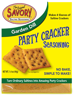 Garden Dill Savory Party Cracker Seasoning