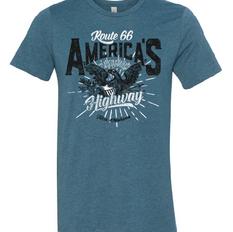 Route 66 America's Highway Unisex Tshirt