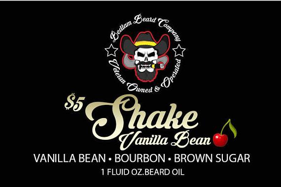 $5 Shake Vanilla Bean Beard Oil or Balm