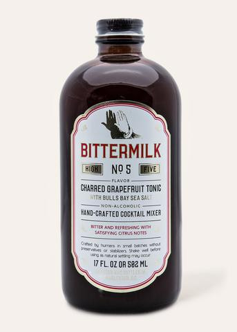 Bittermilk - No.5 - Charred Grapefruit Tonic with Bulls Bay Sea Salt