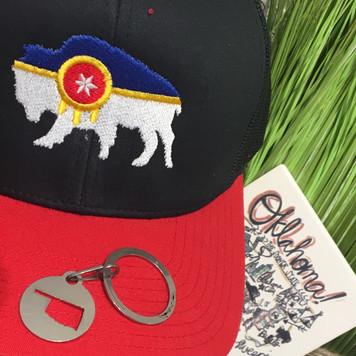 Oklahoma Key Chain