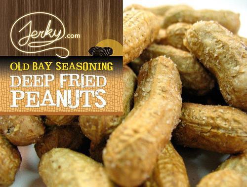 Old Bay Seasoning Deep Fried Peanuts