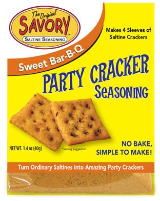 Sweet Bar-B-Q Savory Party Cracker Seasoning