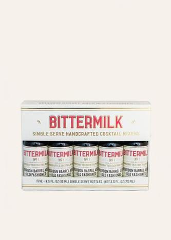 Bittermilk - Five Pack Single Serve Old Fashioneds (Case of 12)