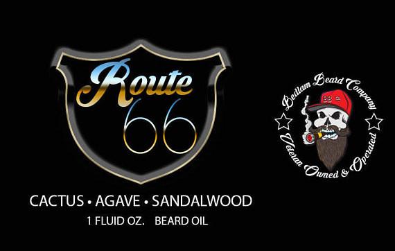 Route 66 Beard Oil or Balm