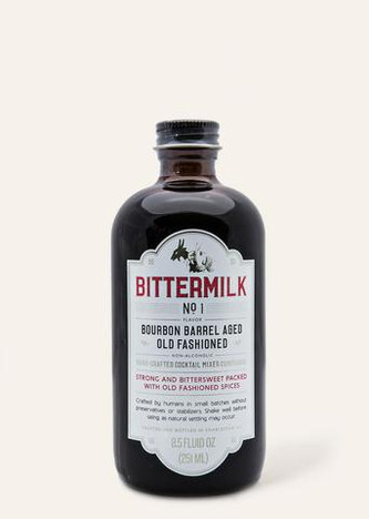 Bittermilk No.1 - Bourbon Barrel Aged Old Fashioned