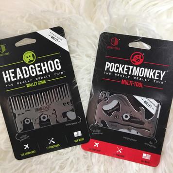 PocketMonkey & Hedgehog