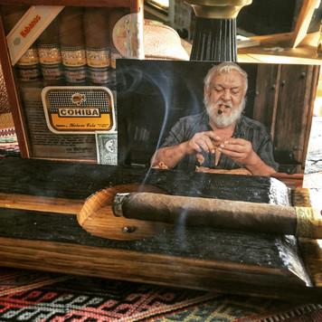 Aged Bourbon Barrel Ashtray