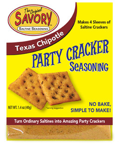 Texas Chipolte Savory Party Cracker Seasoning