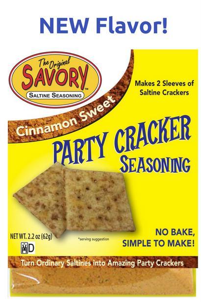 Cinnamon Sweet Savory Party Cracker Seasoning