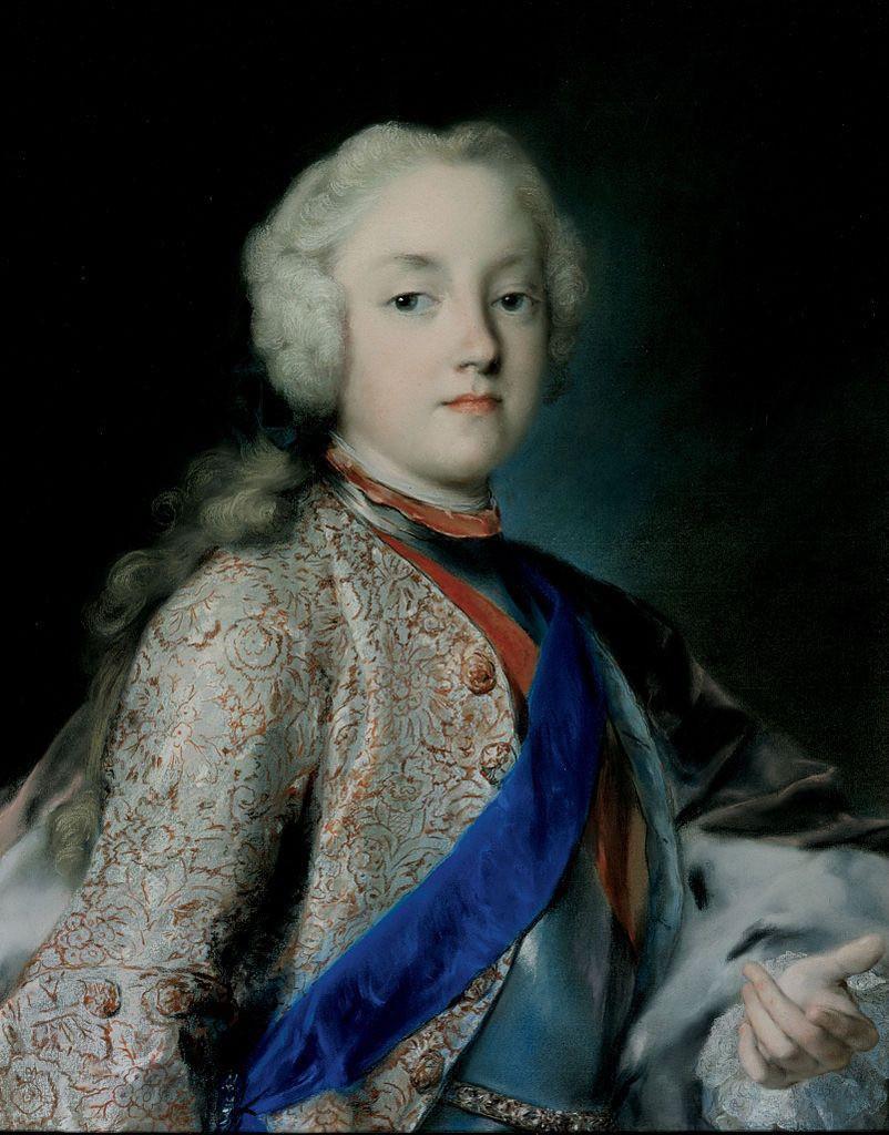 Il principe ereditario Friedrich Christian di Sassonia