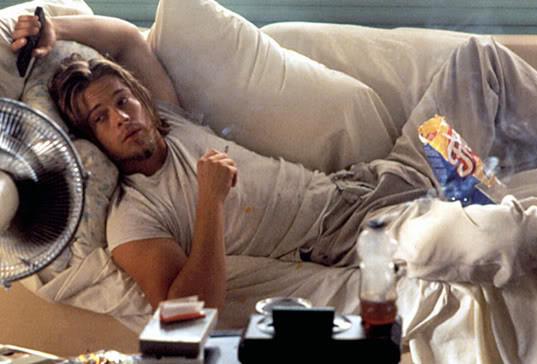 Brad Pitt in True Romance (1993)