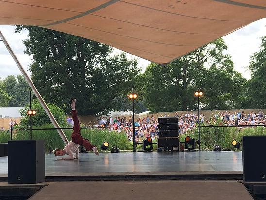 Matthew Rawcliffe performing Me Myself and I (Latitude Festival)