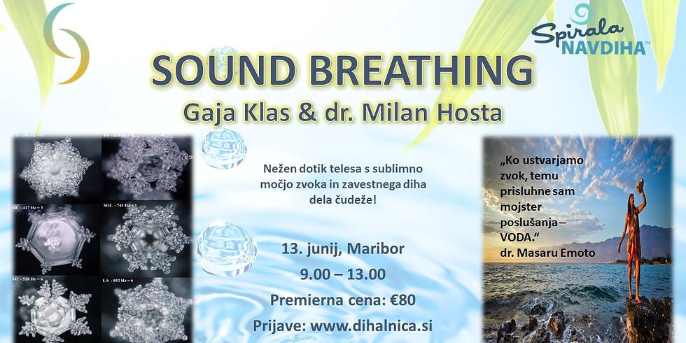 SOUND BREATHING z Gajo Klas in Milanom Hosta