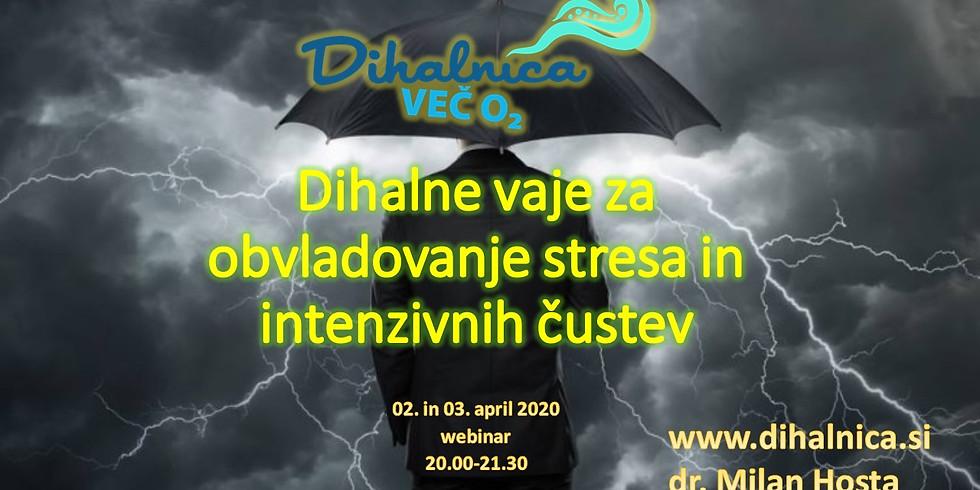 Dihalnica - obvladajmo stres in intenzivna čustva