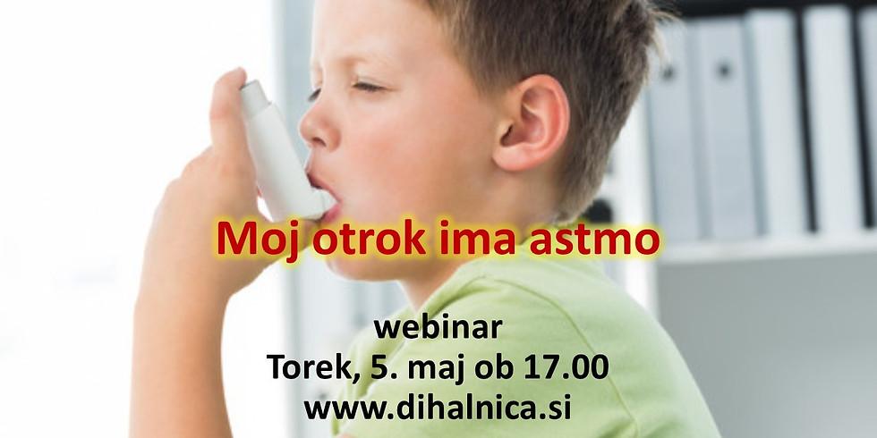 Moj otrok ima astmo - svetovni dan astme