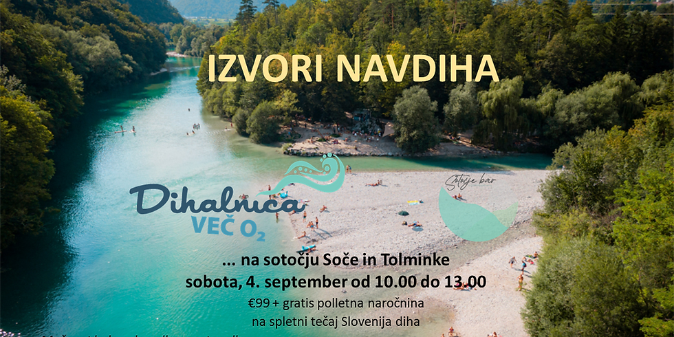 DIHALNICA - sotočje Soče & Tolminke