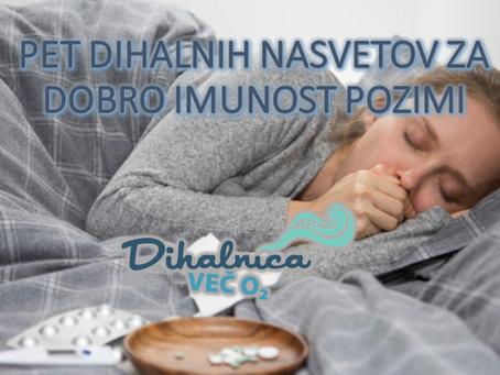 5 dihalnih nasvetov za ohranjanje imunosti v zimskih dneh