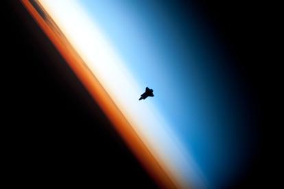 Shuttle Silhouette