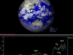 Venus Express sucht nach Leben auf der Erde