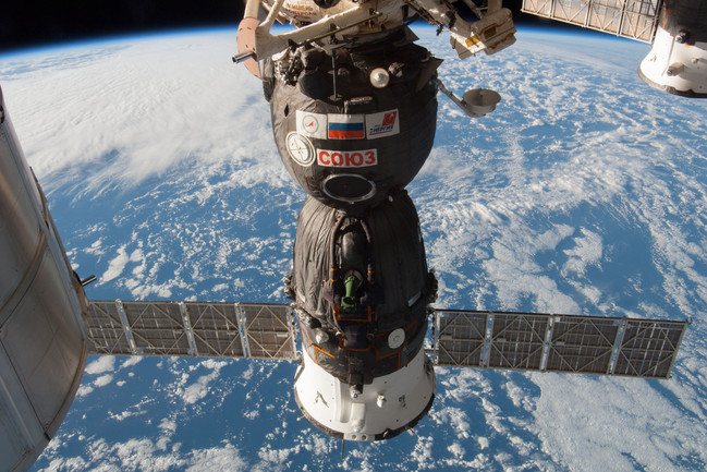 Expedition 38 Soyuz Spacecraft