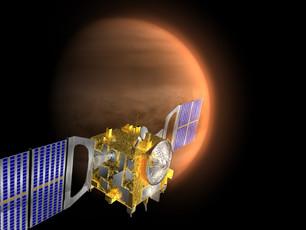 Die Ergebnisse der Venus Express Sonde