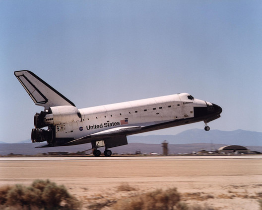 Landing of the Space Shuttle Endeavour