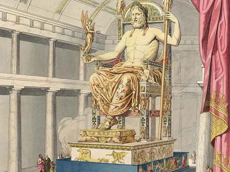 Zeusstatue in Olympia