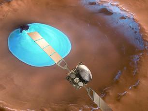 Wasservorkommen auf dem Mars