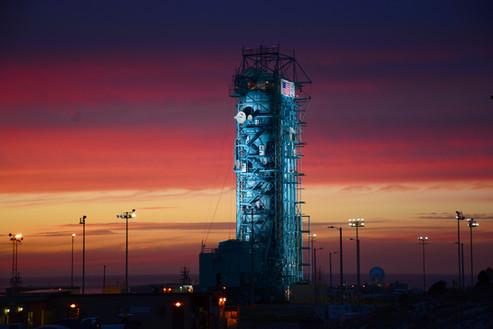 Vandenberg Airforce Base / Copyright NASA