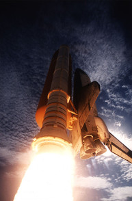 Launch of the Space Shuttle Columbia (STS-73)