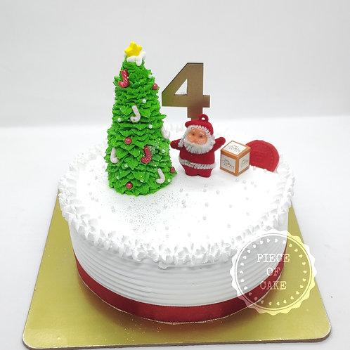 Christmas theme Paan Cake