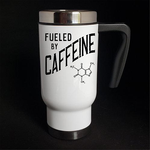 Fuel By Caffeine travel mug