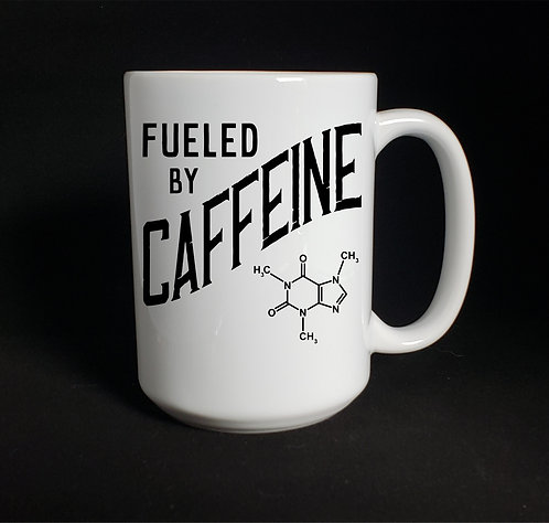 Fuel By Caffeine mug