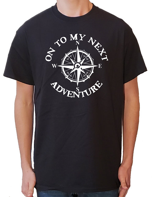 On To My Next Adventure t-shirt