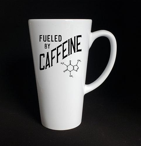 Fuel By Caffeine latte mug