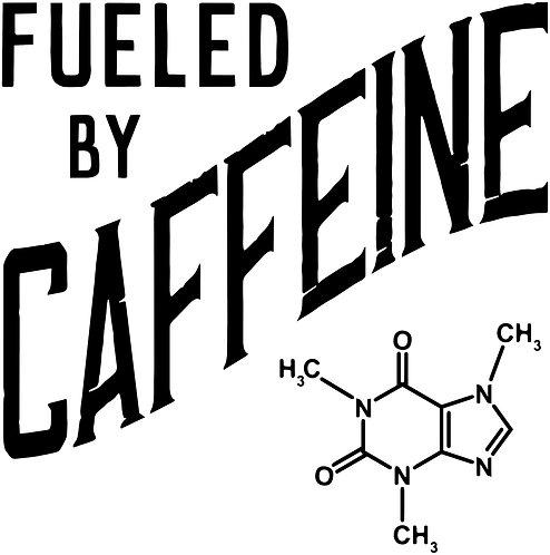 Fuel By Caffeine sticker