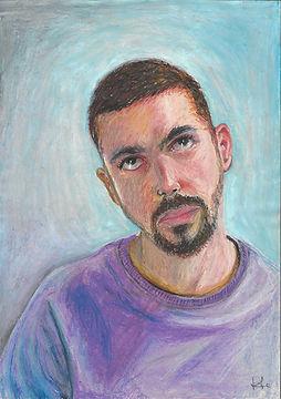 Auto retrato - Henrique Dantas,