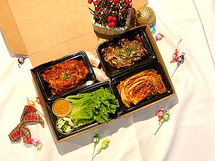 Christmas Meal Package - Ohgane Korean B