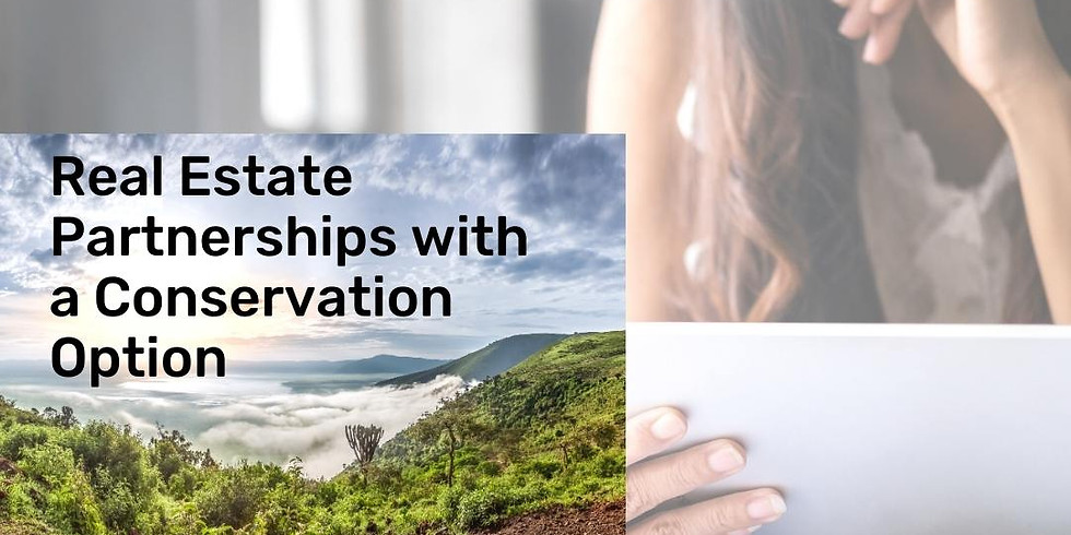 For Tax Professionals - Real Estate Partnerships with a Conservation Option
