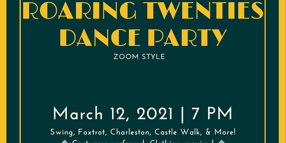 Roaring 20's Dance Party courtesy of FWS