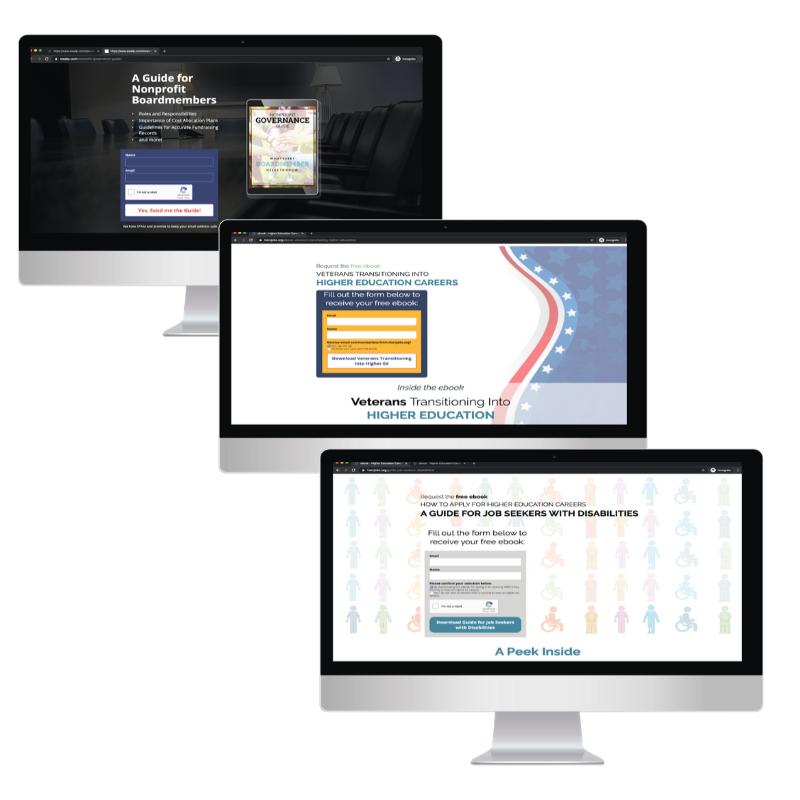 Landing Page Design - Tabify Graphic Des