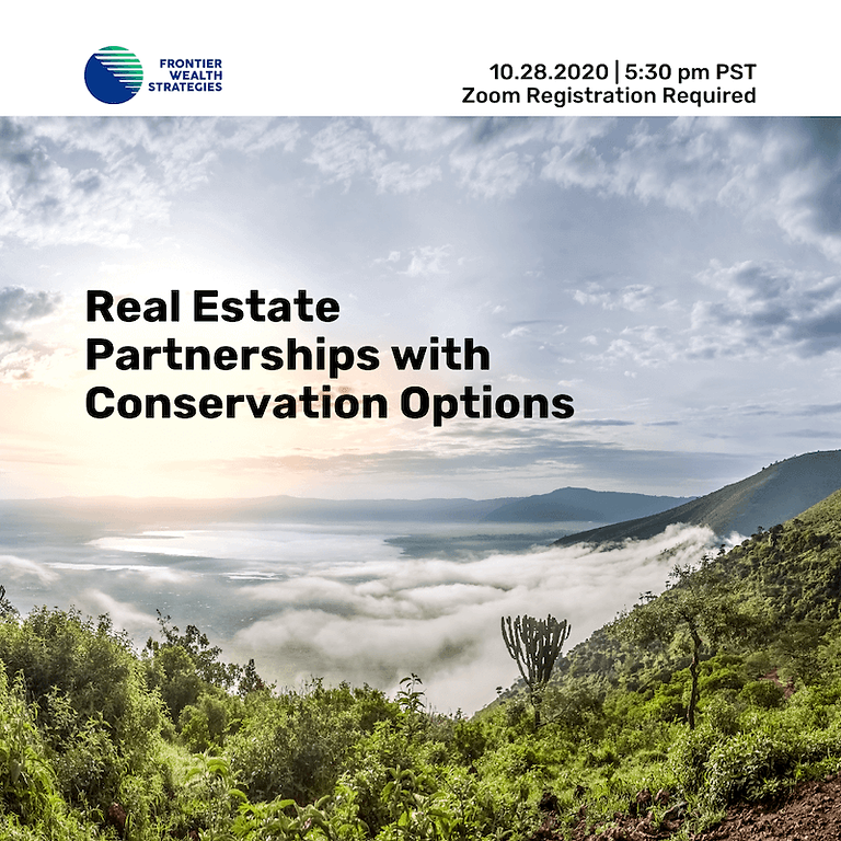 Real Estate Partnerships with Conservation Options
