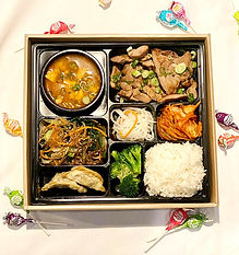 Lunch Box Special - Ohgane Korean BBQ.jp