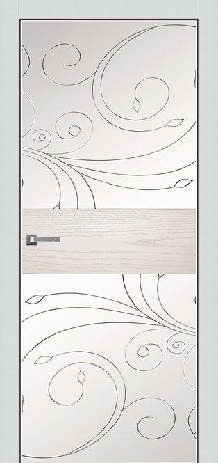 ALUFORM 1.  Ясень белый, зеркало